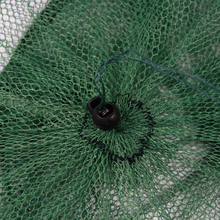 1 Piece 28cm X 42cm Small Mesh Fish Net Bag Foldable Fish Nets for Trout Fly Fishing Pond / Carp Fishing Keeper
