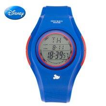 hot Disney Watch Kids Boy children Watch LED Digital Sports Watch LED Waterproof Watch Fashion Outdoor Wristwatches Jelly Rubber