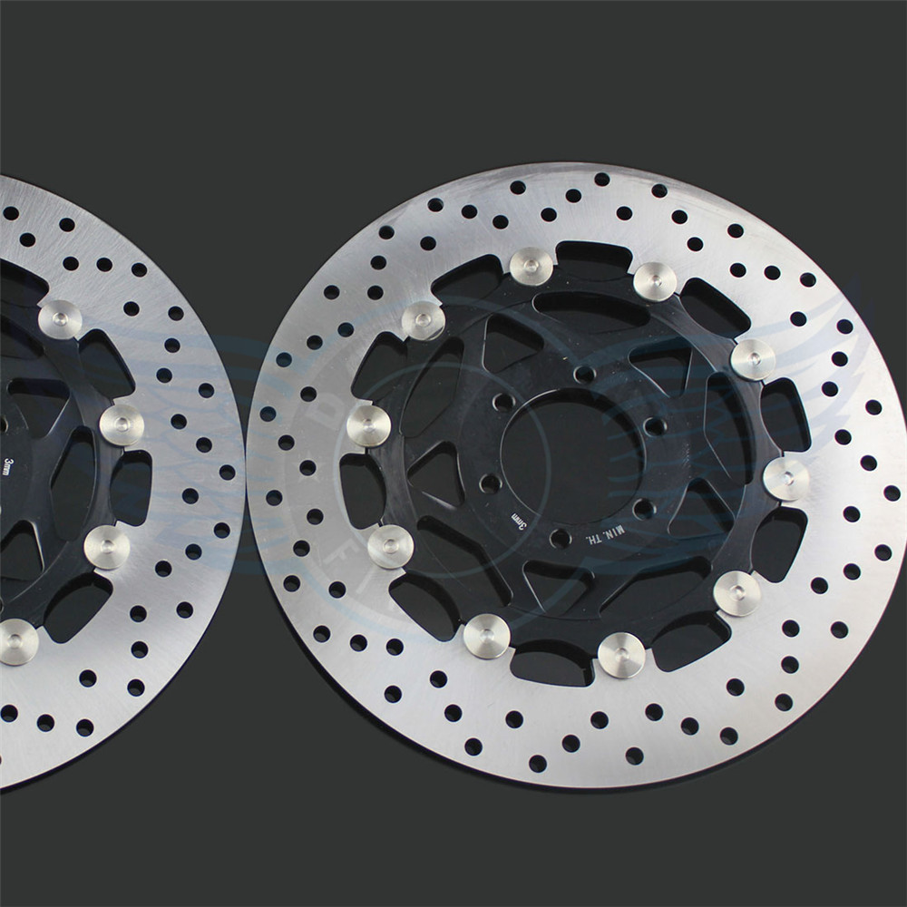 high quality Motorcycle accessories front Brake Disc Rotor For YAMAHA FZR400 1988 1989 1990 1991 1992 1993 1994 1995 motorcycle front and rear brake pads for yamaha fzr 400 fzr400 u suc w swc 1988 1989 black brake disc pad
