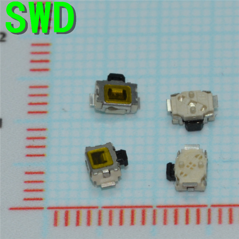 3*4mm Micro Switch smd 2pin Micro buttons mobile phones universal touch switch button switch side by 3X4 machine  #DSC0039 3 4mm micro switch smd 4pin new switch button key for mobile phone3x4 machine dsc0039