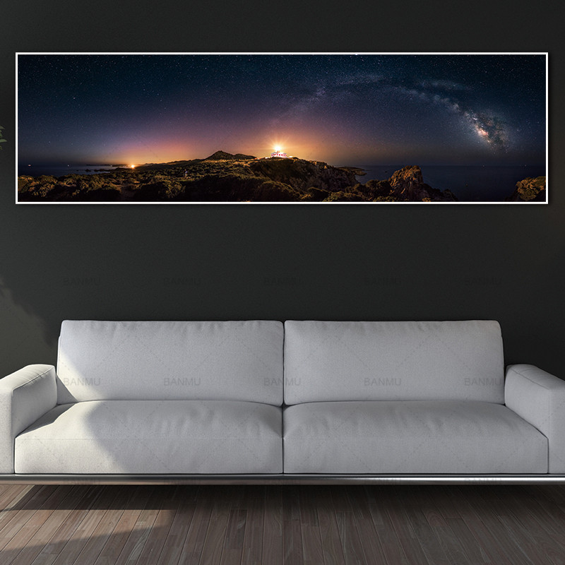 painting wall picture landcape art print trees and posters picture wall art Painting decoration for living room no frame canvas