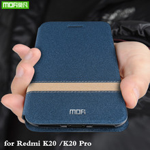 MOFi for Redmi K20 Pro Case Xiaomi K20 Cover for Mi K20 pro Case Flip Xiomi Housing TPU PU Leather Soft Silicone Stand