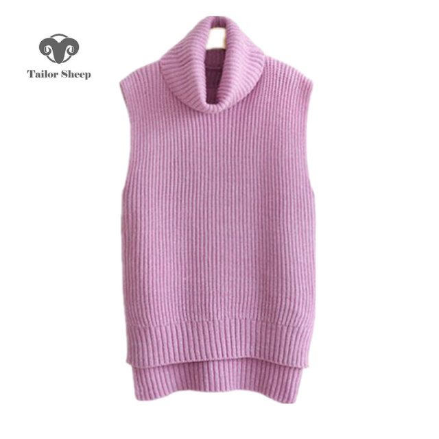 17 the latest vest women cashmere sweater sleeveless long pullover ...