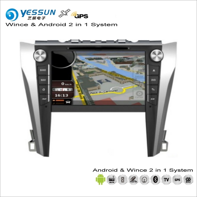 Yessun For Toyota Camry 2017 Car Android Multimedia Radio Cd Dvd Player Gps Navi Map Navigation Audio Video Stereo System