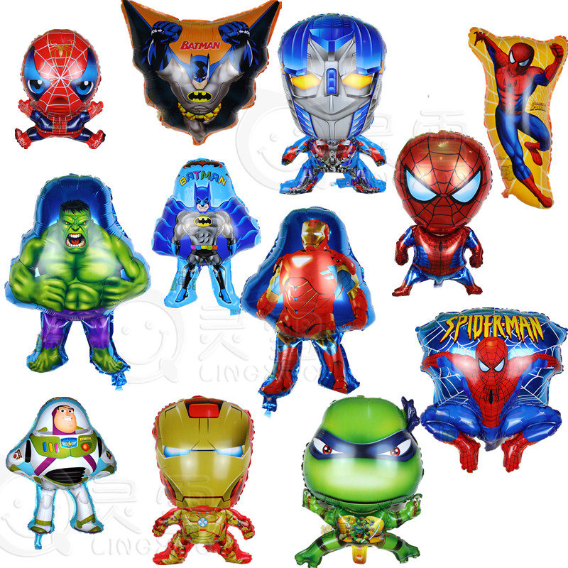 Popular spiderman mylar balloons buy cheap