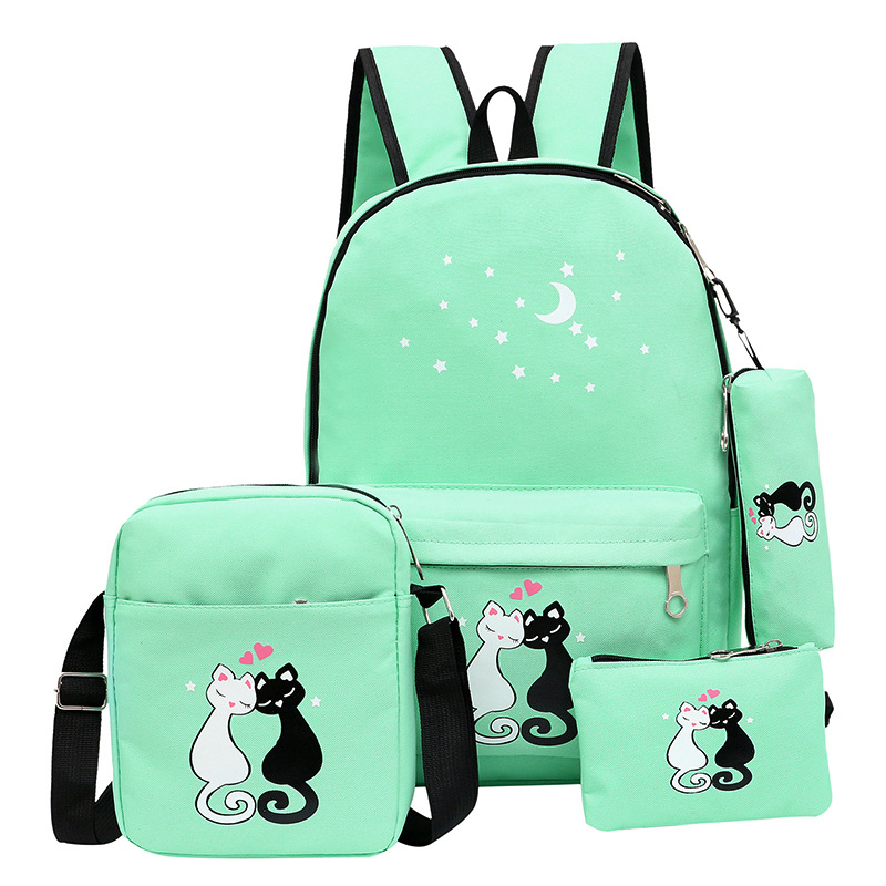 bolsa de ombro mochila escolar Material Principal : Plutônio