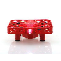 DHD D3 Mini Drone One Key Return Mesh Headless Mode 2.4G 4CH 6 Axis RC Quadcopter RTF Helicopter Red Drones