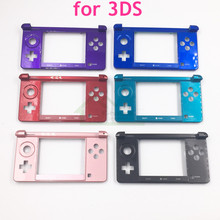 E Nhà Ban Đầu Sử Dụng Dưới Trung Khung Nhà Ở Vỏ Ốp Lưng Dán Mặt Lưng Thay Thế dành cho Máy Nintendo cho 3DS Tay Cầm Chơi Game