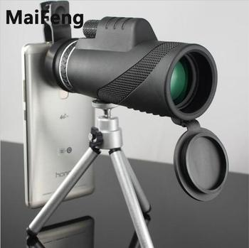 High Quality Powerful Binoculars 40x60 Zoom Binocular Field Glasses Great Handheld Telescopes Military HD Professional Hunting image