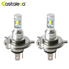 1 Pair H4 LED Car Headlight 72W Turn Signa Fog Lamp CANBUS led h4 12V For Vehicle Motorcycle Truck 6000k Plug and play