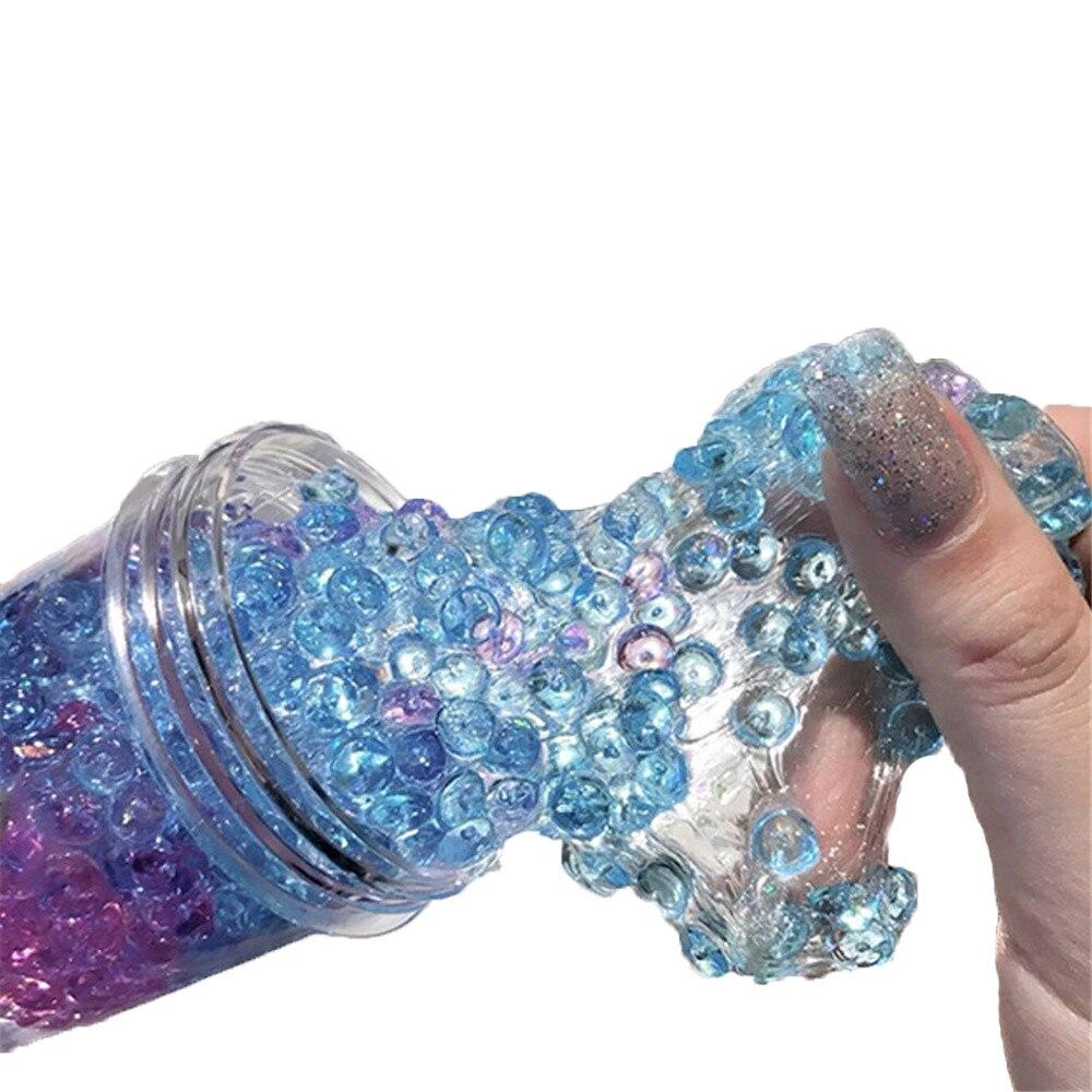 Красивые Цвет DIY Хлопок слизь глины 3D пушистая пена слизь Ароматические стресса без буры образование Craft грязи Игрушка антистресс игрушка