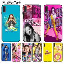 MaiYaCa Soy Luna Painted Cover Style Soft Shell Phone Case for Apple iPhone 8 7 6 6S Plus X XS MAX 5 5S SE XR Cover недорго, оригинальная цена