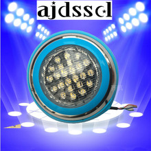 1PCS LED Swimming pool light 20W 30W 40W 50W AC 12V RGB IP68 LED remote control underwater Lamp Outdoor Lighting Pond lights