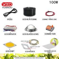 100 W 200 watt 300 watt CREE CXB3590 COB LED Wachsen Licht DIY Modul Volle Geführte spektrum Wachsen Lampe Innen anlage Ideal Halter MEANWELL Fahrer