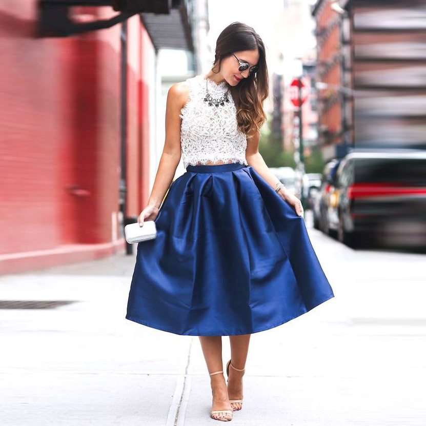 d09d6f12c4 2016 Inglaterra alta baja faldas largas para mujer azul marino viejo verde  negro Falda larga Mujer ropa plisada Maxi faldaUSD 33.54 piece