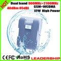 10 Вт двухдиапазонный репитер GSM + WCDMA 3 г 900 мГц + 2100 мГц двухдиапазонный повторитель 3 г телефон сигнал повторителя мобильный телефон усилитель 10 Вт