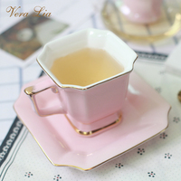 Ceramic English Afternoon Tea Set Simple And Elegant Creation Home Tea Cup European Style Coffee Cup