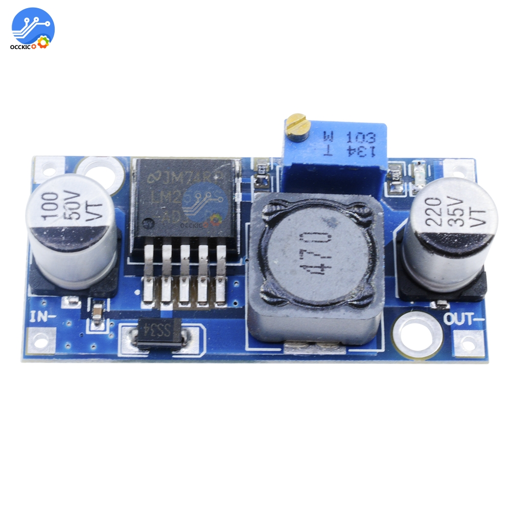 1pcs LM2596 DC-DC 4.5-40V Adjustable Step-down Power Supply Module Buck Converter Adjustable Voltage Regulator
