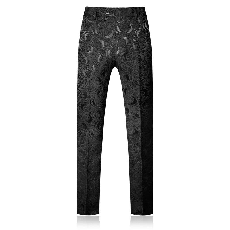 Black Hommes De Costume Porter Costumes 4xl Plyesxale Noir Partie Bal 5xl 2018 Slim Mariage Col Q268 Imprimé Pour Fit Floral Châle AtWvnRWq
