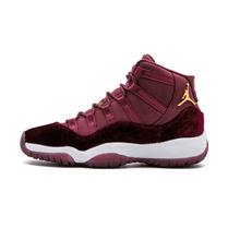 23eb4647d781 Jordan Retro 11 New Arrival Authentic Red Velvet Men Basketball Shoes  Outdoor Sport Shoes Trainer Sneaker