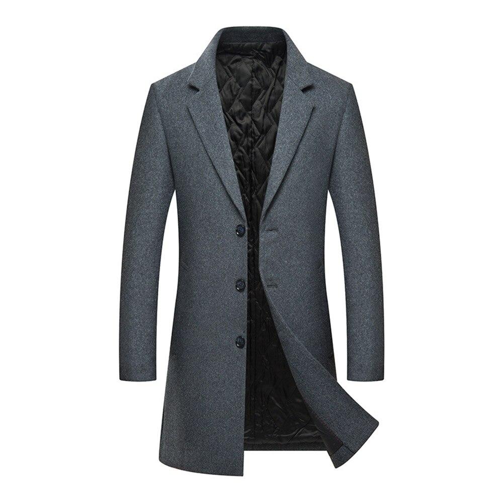 Diseño Casuales Mezclas Lana De Oficina Oscuro La Abrigo Envío Hombres Negro gris Traje Gota Los Slim Chaquetas xn0q41wB