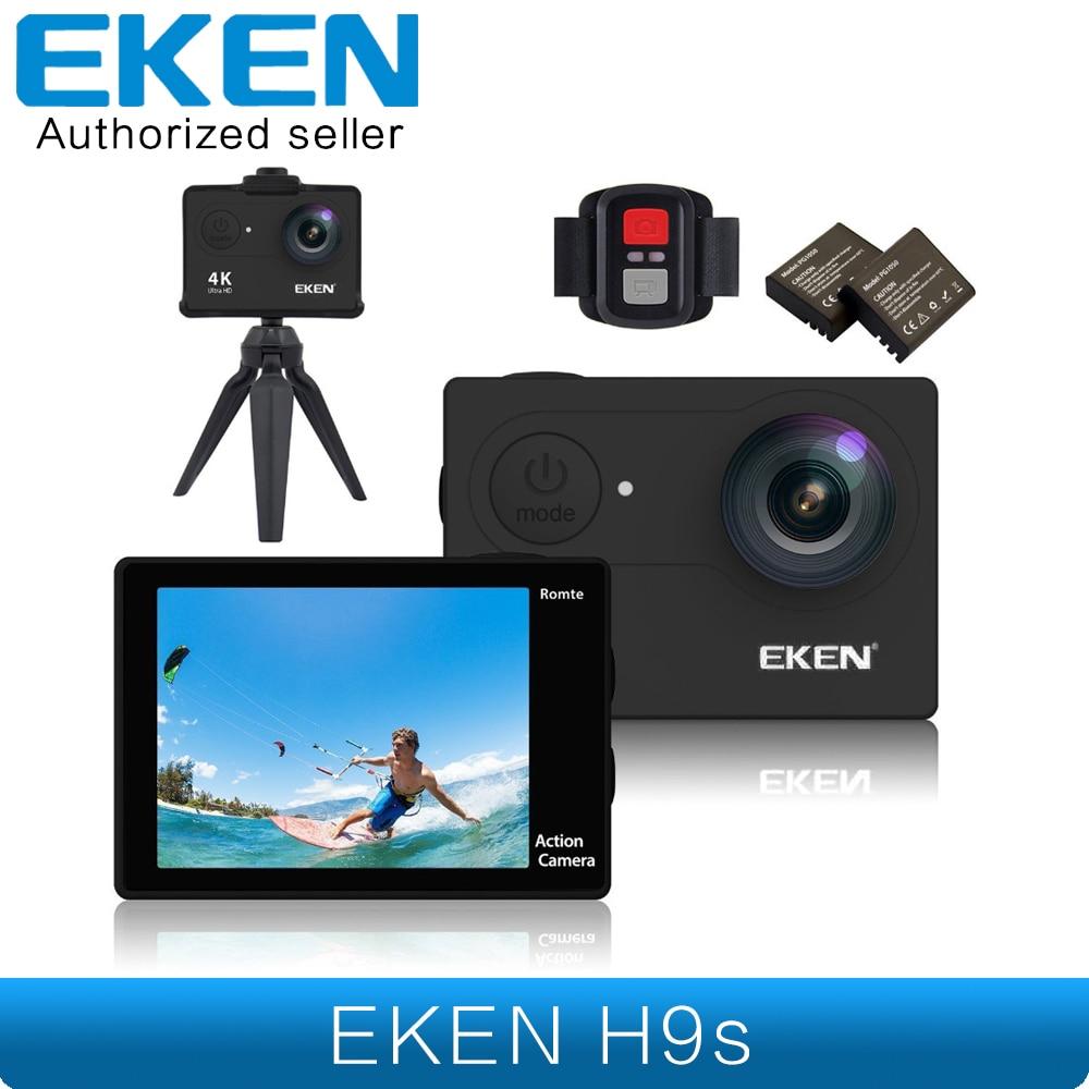 100% Originale EKEN H9s Caméra D'action Live Streaming 4 k WiFi Ultra HD Étanche EKEN H9 Session Mini Caméra De Sport