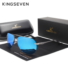 kingseven Aluminum magnesium HD polarized aviation Sunglasses women men driving sun Glasses vintage oculos de sol