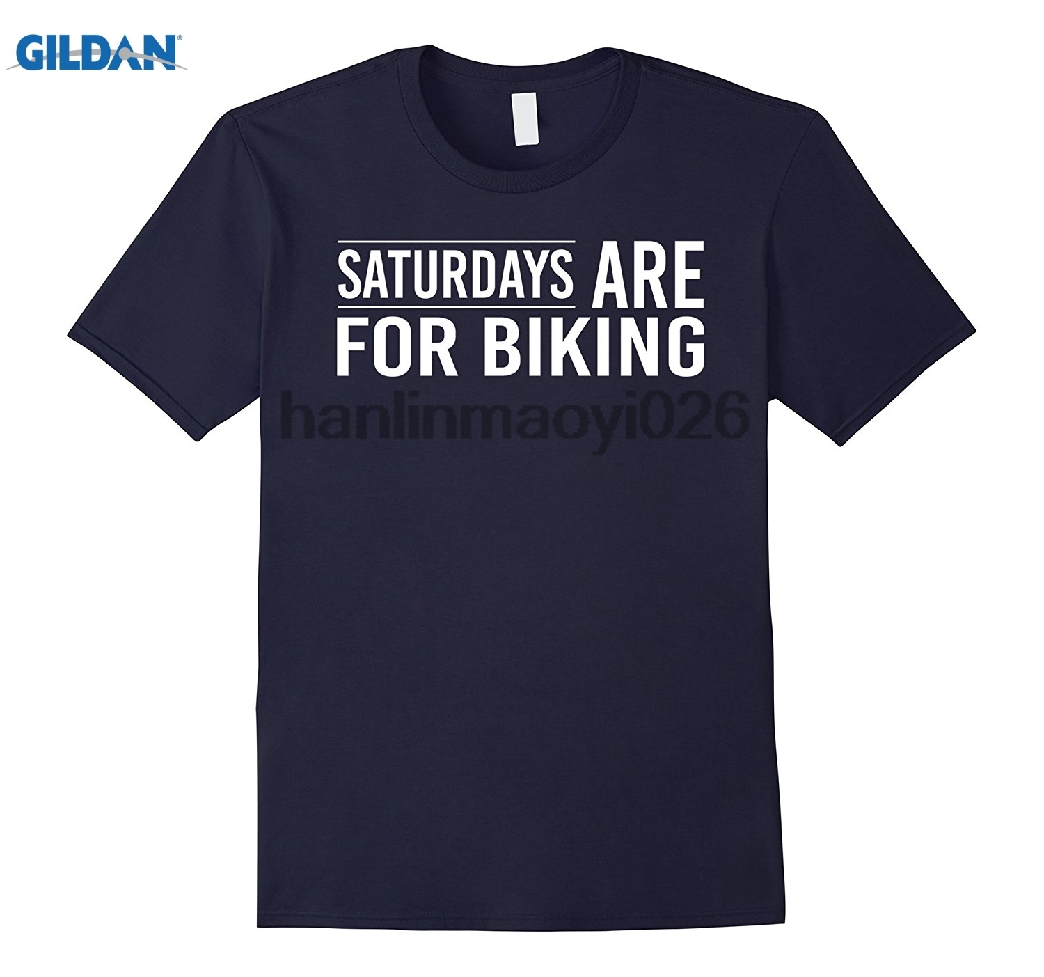 GILDAN Saturdays are for biking best bikers cyclists funny t-shirt