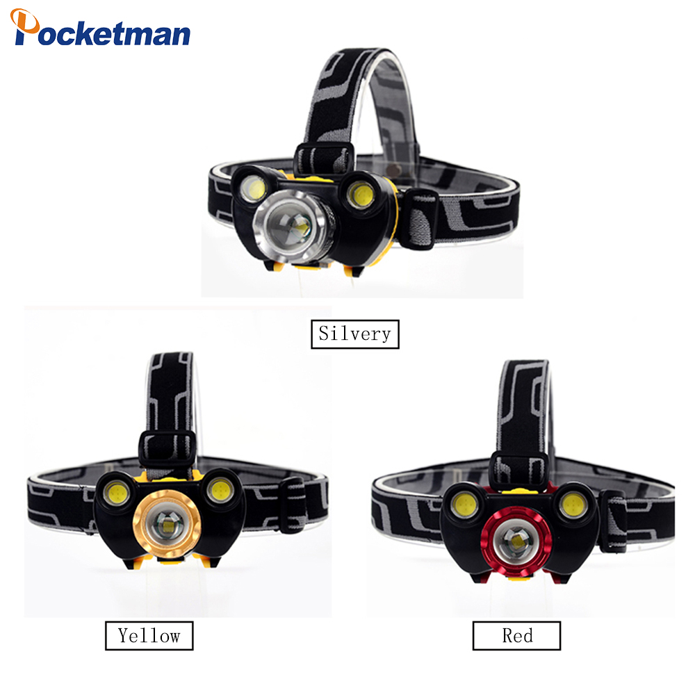 2018 NEW XM-L T6 + COB 3X LED 20000 Lumens USB Headlamp Zoom Flashlight Battery z302018 NEW XM-L T6 + COB 3X LED 20000 Lumens USB Headlamp Zoom Flashlight Battery z30