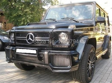 W463 Carbon Fiber Front  Lip  Spoiler For G Class G63 G65 10-14 Of The MS Style (Fit AMG Or Sport Bumper)