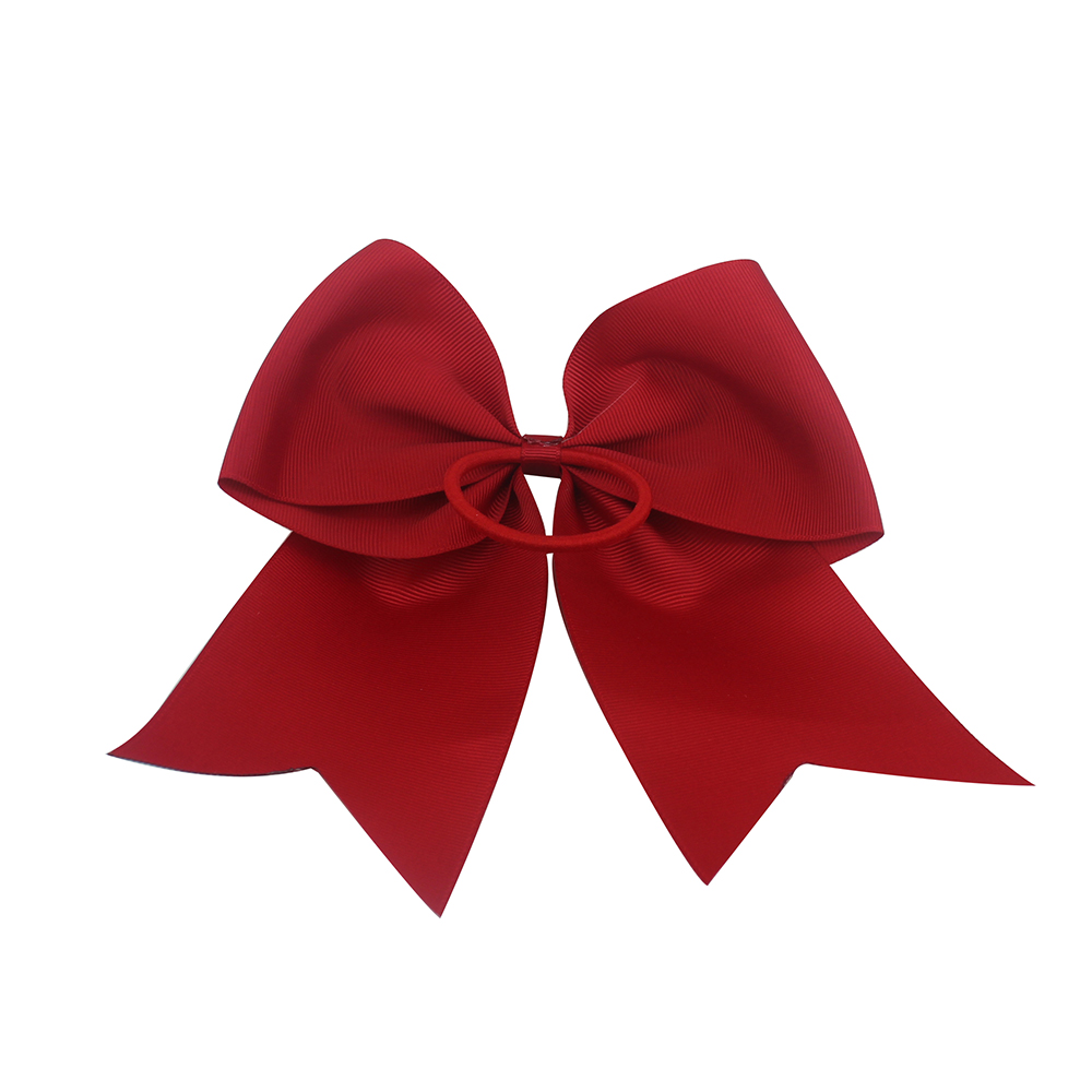 7 Inch Cat Cheer Bow Hair Bows Printed stripes cheer bows Ribbon with Ponytail for Girls Gifts Mom Cheer Cheerleading Shirt in Hair Accessories from Mother Kids