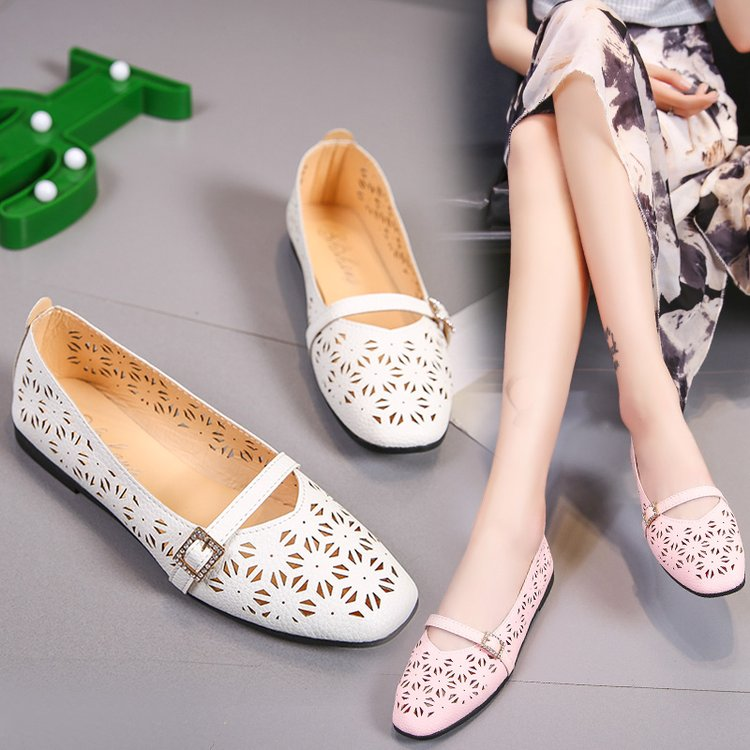Brand Ksyoocur 2018 New Ladies Flat Shoes Casual Women Shoes Comfortable Pointed Toe Flat Shoes Spring/autumn Women Shoes 18-026 women s shoes 2017 summer new fashion footwear women s air network flat shoes breathable comfortable casual shoes jdt103
