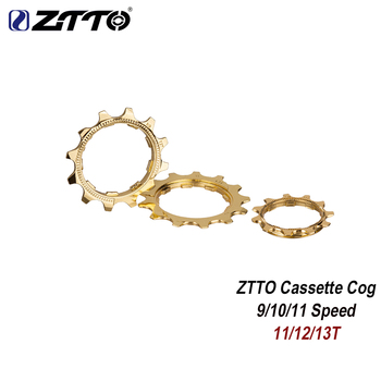 ZTTO MTB bicicleta de engranaje de montaña bicicleta de carretera 9 10 11s 11T 12T 13T de oro del piñón de la rueda libre a 9v para K7 partes Cassette