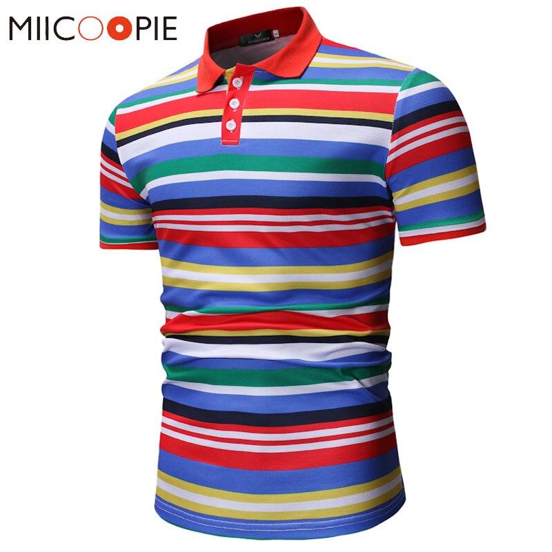 Men   Polo   Shirt Summer Short Sleeve Breathable Striped   Polos   Male Shirt Tops&Tees Brand Clothing Men Camisa   Polo   Homme XXXL