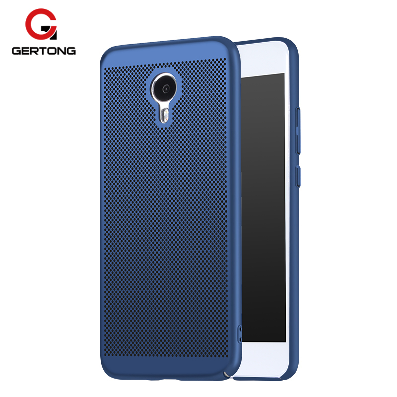 GerTong Luxury Coque Case For Meizu M5S M5 S M3 Note Cover Capa Funda Smartphone Protective Armor Hard PC Heat Dissipation Shell
