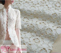 2meters/lot diy cotton embroidery lace fabric  white dot fabric fabric