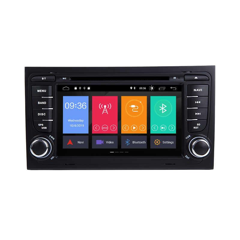 Xonrich AutoRadio 2 Din Android 10 Lettore DVD Dell'automobile per Audi A4 S4 B6 B7 RS4 8E 8H 8F b9 Seat Exeo 2002-2008 di Navigazione GPS Audio