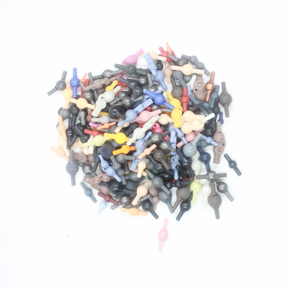 100pcs Joint parts for Kaiyodo Revoltech Joint Mixed Color /& Size Random