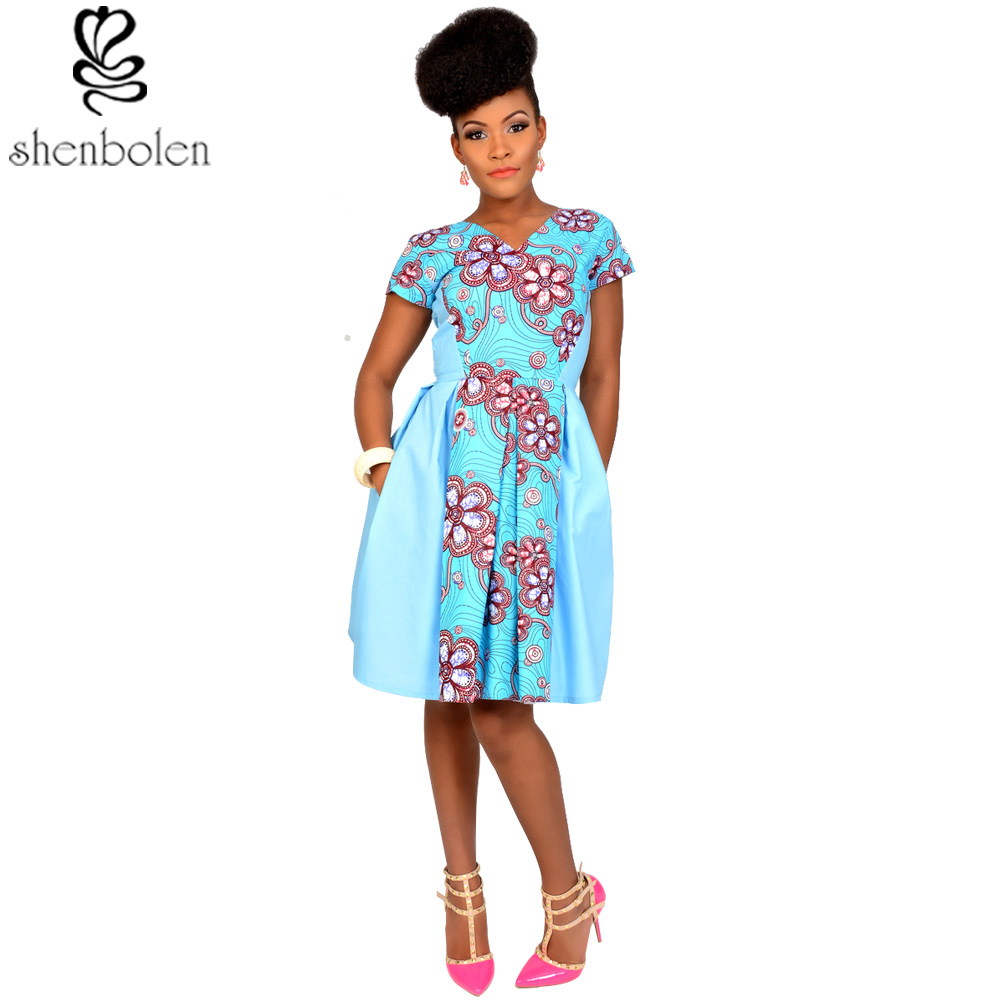 2016 autumn African dresses for women ankara clothing Party Dresses ...