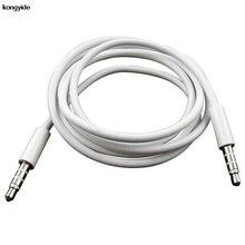 kongyide 4 Pole 1m 3.5mm male to male aux audio cable headphone connection Cable
