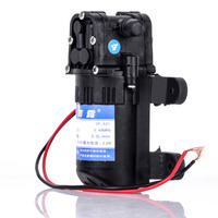 Mayitr 1pc DC 12V Electric Diaphragm Water Pump 70 PSI Black Agricultural Sprayer Pump 3 5L