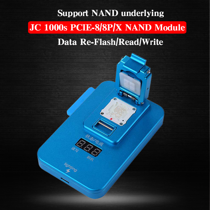 JC Pro1000S Multi-Function NAND Programmer PCIE NAND Read Write SN Repair for iPhone X 8 8 Plus Error Repair Tools