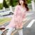 Otoño Trench Coat Para Las Mujeres Casacos Femininos 2015 Estilo de Muy Buen Gusto Ocasional Delgada Larga Paraguas Embroideried Algodón Abrigos 3 Colores