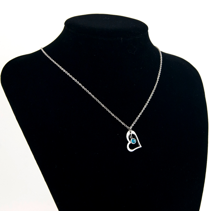 Risul-Female-Jewelry-birth-stone-in-Heart-Charm-Necklace-Rolo-chain-Stainless-steel-best-friend-beautiful (4)
