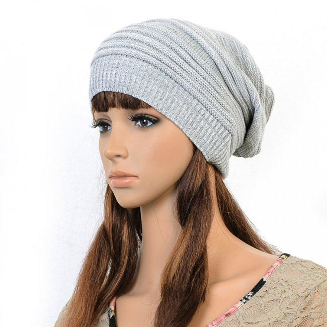Wholesale 6pcs Women Knit Slouchy Beanies Men Crochet Beanie Mens