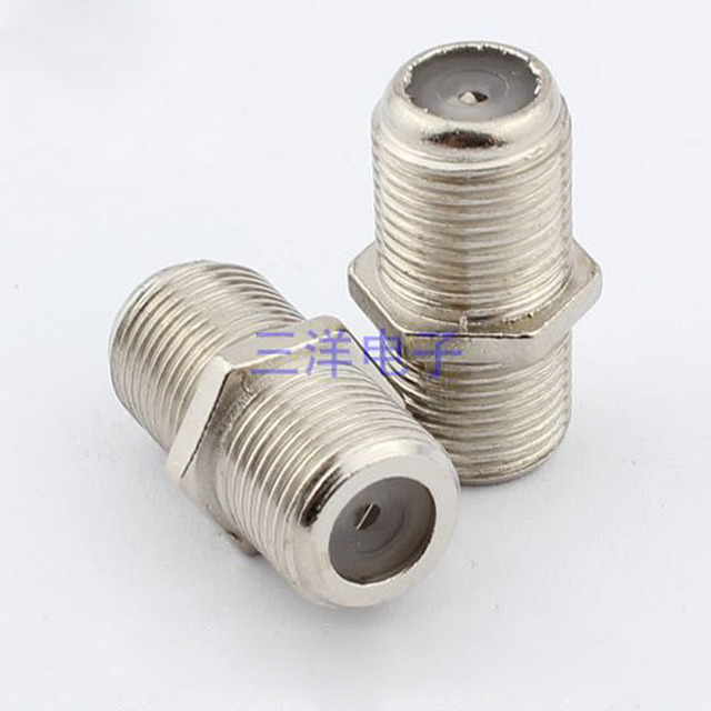 100pcs TV Cable Connector Extension On the Joint Cable TV Line ...