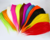 Fly Tying Material Hair For Sunray Shadow Flies And Dog Tube Fly Available In 12 Different