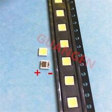 500 шт/лот можно заменить lg 3535 2 Вт 6 в холодный белый для