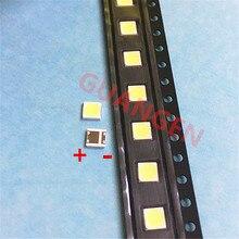 500 ピース/ロット交換することができる lg 3535 2 ワット 6 12v クールホワイト液晶テレビの修理 led テレビバックライトストリップライト発光ダイオード smd