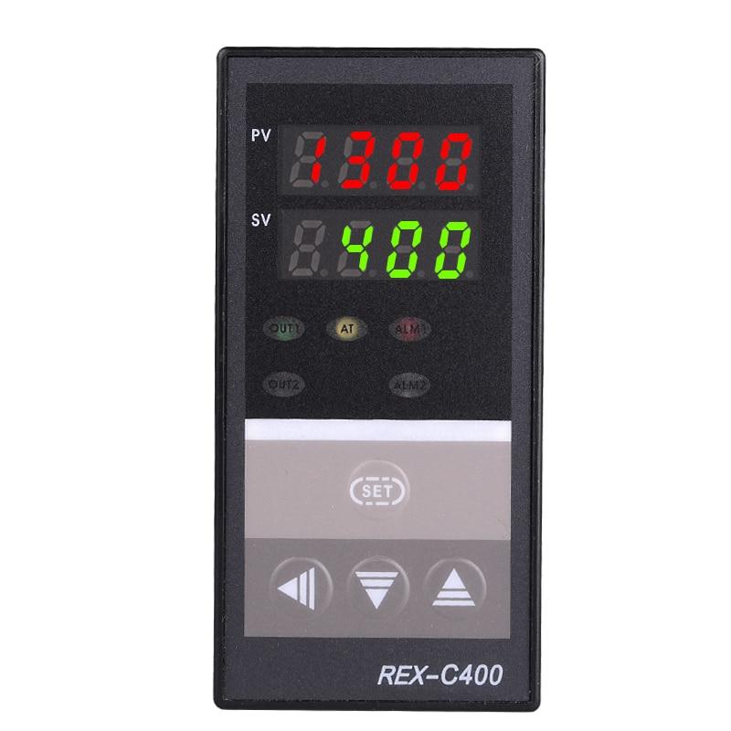 PID digitális hőmérsékletszabályozó RKC REX-C400 Univerzális bemeneti relé kimenet Függőleges típus az automatikus csomagológéphez